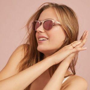 *Anthro* Rockaway Wayfarer Sunglasses